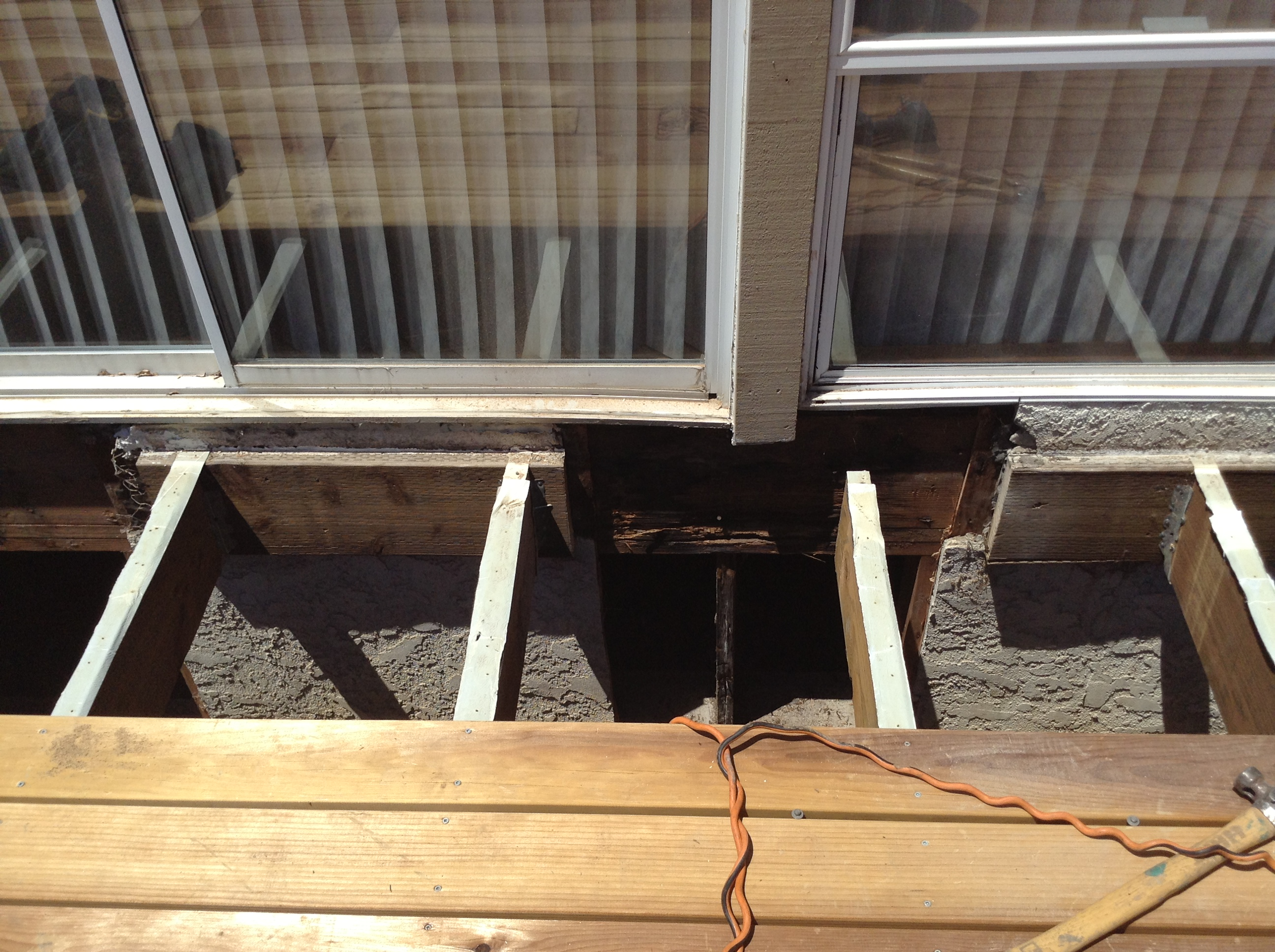 Dry Rot Replacement On Deck/Patio